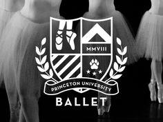 Princeton University Ballet Logo by Jody Worthington