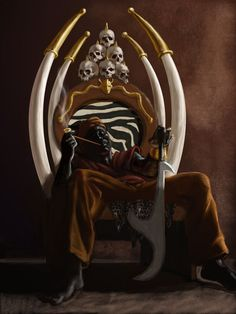 african warrior art - Google Search