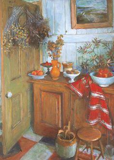 Kitchen Interior, Margret OLLEY