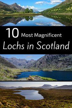 best lochs in Scotland - list Scottish lochs Pin