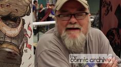 Richard Starkings has changed the face of comics, shepherding in the age of digital comic book lettering in the 90's.  Here he talks with us about digital lettering, writing Elephantmen at Image Comics and his history in comic books.  For more videos go to http://thecomicarchive.com