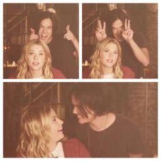 Tyler Blackburn (Caleb Rivers) & Ashley Benson (Hanna Marin) - Pretty Little Liars