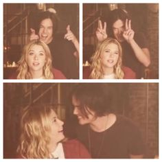 Tyler Blackburn (Caleb) & Ashley Benson (Hanna) - Pretty Little Liars