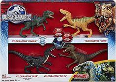 Jurassic World 2015 Toy Set Velociraptor Delta Dinosaur 4 Pack Exclusive Jurassic World http://www.amazon.com/dp/B00XJUO0OK/ref=cm_sw_r_pi_dp_Y-Oqwb1A182ZR