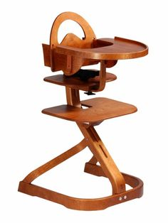 this high chair makes such a design statement!