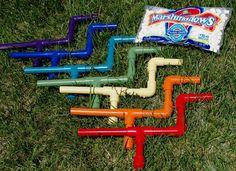 Marshmallow guns