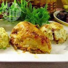 Photo de recette : Poulet à la cocotte-minute avec sauce à l'abricot