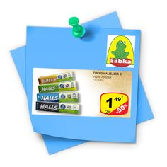 - Najtańsze  Produkty -: Dropsy Halls 1,49 zł za sztukę