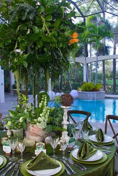 """""""My Secret Garden"""", designed by Steven Bowles Creative, Events and Floral Designs, Naples, Florida Photo credit: Mary K Mickiewicz, Naples Fl"""
