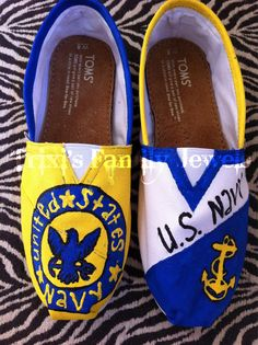 For Our U.S. Navy Girl                        Toms @Becky Nielson States Navy
