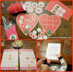 Free Printables for Valentine's Day  #valentinesday #printables