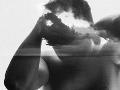ghost in the machine - Double Exposure Photography by Simon Hart