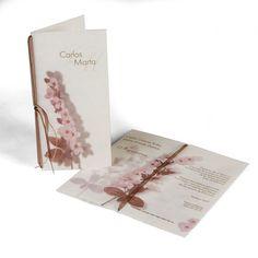 Invitaciones de boda Busquets http://www.voydebodas.com