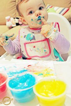 DIY pintura de dedos  (en español)