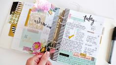 Heidi Swapp MemoryPlanner Room Planner, Life Planner, Happy Planner, Passion Planner, Project Planner, Planner Ideas, Planner Organization, Organizing Tips, Heidi Swapp