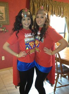 Twin Day! Make a cute outfit inspired by a colorful t-shirt