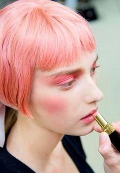 Chanel Fashion Week 2013 makeup