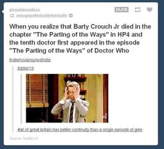 I don't know whether to put this under Harry potter, Doctor Who, or geeky stuff...