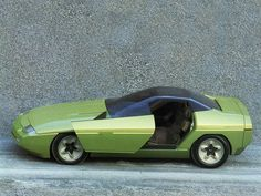 Les concepts Bertone: Chevrolet Ramarro (1984) | le blog auto
