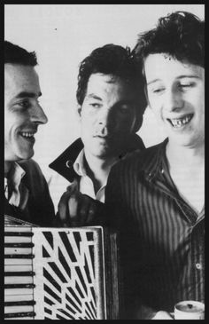 What a smile that Shane has .... the pogues