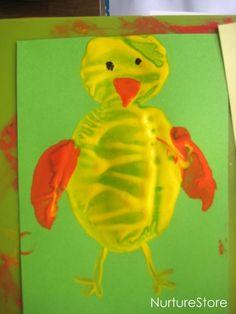 NurtureStoreCraft activities for children :: Easter potato printing » NurtureStore