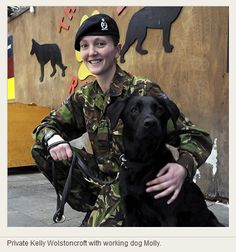 Military Working Dog & Handler