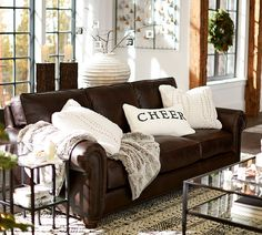 Webster Sofa Collection Legacy Tobacco