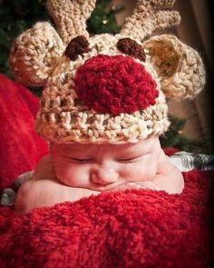 Ravelry: Reindeer hat pattern by Colleen Hoke by Carolina Barrios