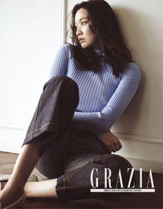 Jang Yoon Joo - Grazia Magazine August Issue '15