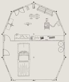 1000 ideas about prefab garage kits on pinterest prefab for Modular garage apartment floor plans
