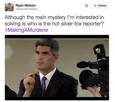 "Meet Seth ""Steven Avery"" Meyers In This Hilarious ""Making A Murderer"" Parody Steven Avery, Making A Murderer, Seth Meyers, Me Tv, Hilarious, Funny, I Laughed, Mystery, Pepper"