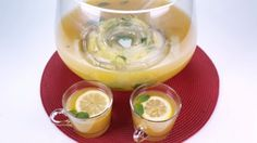Ginger Peach Punch The Chew