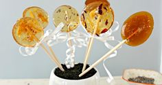 Honey lollipops make sweet easy gifts for the tea or cider drinkers in your life. They are great to make for dinner parties as a favor, or an after dinner treat. I also like making them as stirrers for my regular cup of tea now and then. You can make these at home with just …