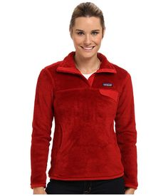 Patagonia Re-Tool Snap-T® Pullover Cochineal Red - Wax Red X-Dye - Zappos.com Free Shipping BOTH Ways
