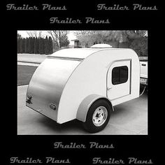 Best 5x8 Teardrop Camper Trailer Plans Available! Trailer Plans, Teardrop Plans