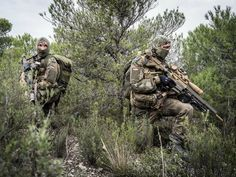 German Mountain Infantry at San Gregorio training area, Spain