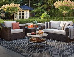 Add style and comfort to your outdoor space with the CANVAS Somerset Patio Loveseat