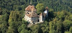 Luftbild - Museum Schloss Kyburg
