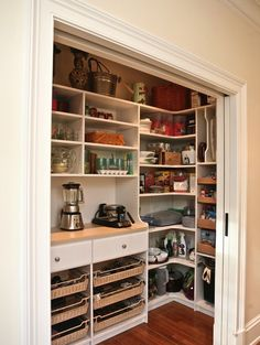 pantry from hall closet