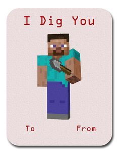 minecraft valentine cards amazon