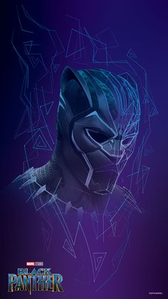 Black panther official wallpaper from Disney