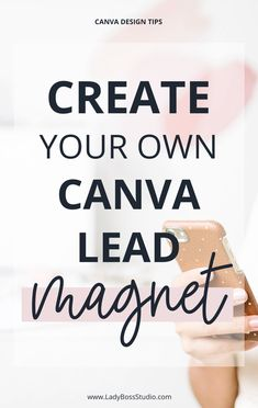 Create a stunning Opt-in Freebie, Content Upgrade or Lead Magnet easily in minutes for free with Canva.