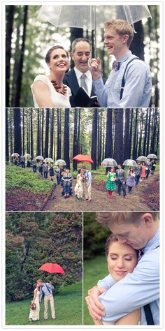 it is good luck to rain on your wedding day...