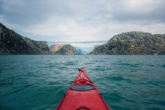 Kayaking in Norway / photo by Cole Rise