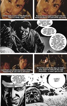 The Walking Dead Vs Comics they are finally following the comic story