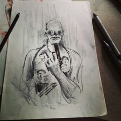 Antihead sketches drawings