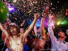 Jesus Ringing In The New Year In Style