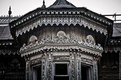 Moika Palace - Sazonov house. Built in the 1890s in Ostashevo,.Chuchloma, Kostroma region of Russia.
