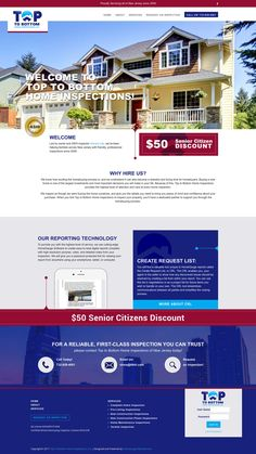 Top to Bottom Home Inspections | Vermillion Designs