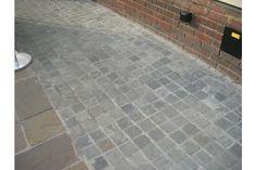 Kandla Grey Cobbles (Setts), Indian Sandstone, 100 x 100mm | LSD.co.uk